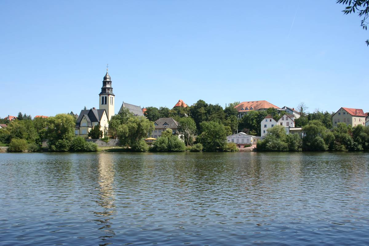 Mainufer in Kelsterbach